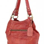 Drift Red Leather Handbag £95