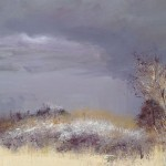 "Tracy Levine ""Blackthorn Sky Over Silverdale "" £950"