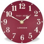 Thomas Kent Red Mantle Clock £22