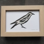 The Red Corvid Paper Cuts
