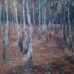 "Mike Jones ""Birch Trees and Leaves"""