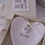 Mr & Mrs Boxed Heart £9.95