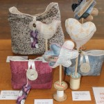 Emma Learoyd - handmade fabrics made up into handmade bags and sculptures