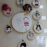Ruth Zanoni Roskell - embroidered art