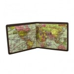 MAP WALLET IN GIFT TIN - £32