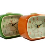 RETRO ALARM CLOCKS - £10