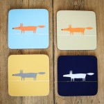 SET OF 4 COASTERS £13
