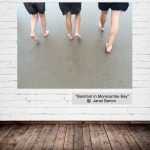 Barefoot in Morecambe Bay - Janet Barton