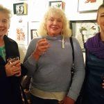 Julie Evans, Liz Collinson, Angela Gardner