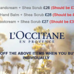 L'OCCITANE DEMO DAY OFFERS @ ARTERIA
