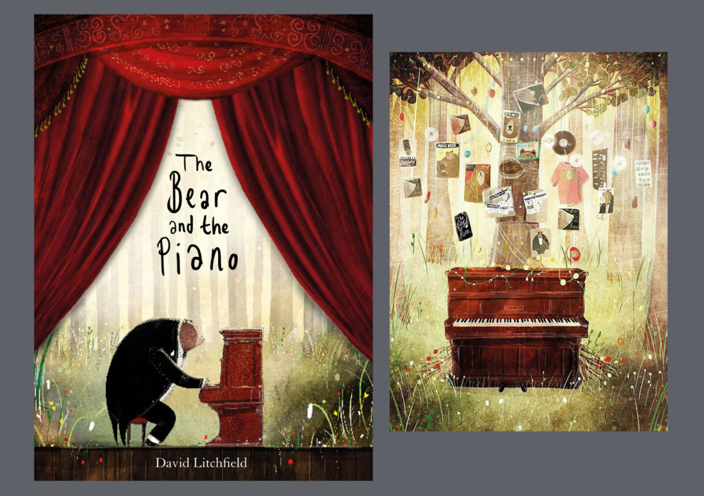 """The Piano and The Bear"" Musical Book £14.99"