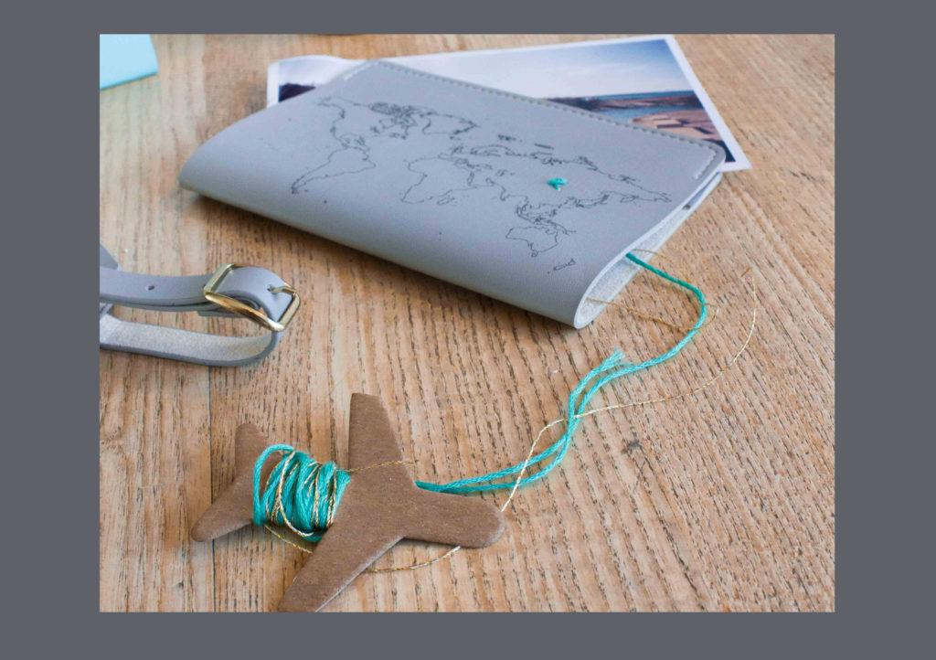 Stitchable Passport Cover £25