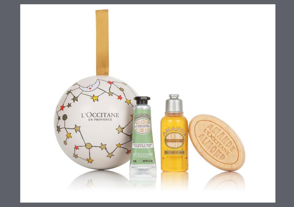 L'occitane Almond Gift Bauble £12