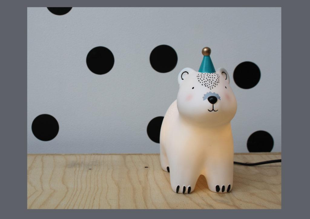 Polar Bear Lamp £35