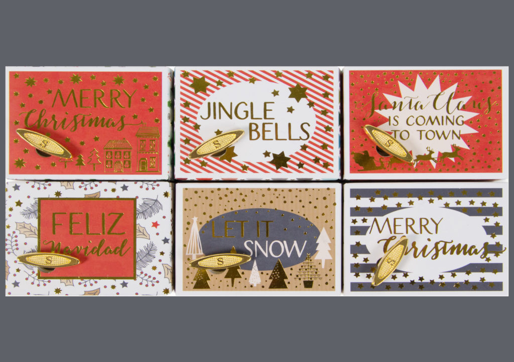 Artebene Christmas Musical Boxes £8