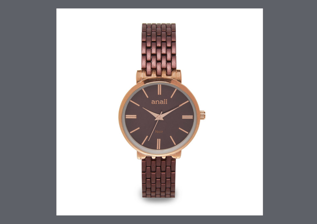 "Icon ""NOIR"" watch £32"