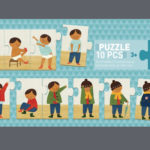 "DJECO ""I'M DRESSING UP"" PUZZLE £8"
