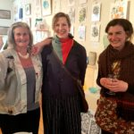 Sue Seddon, Ingrid Christie and Sarah Hampson