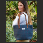 EARTH SQUARED TWEED TOTE BAG £42