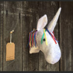 FABRIC TAXIDERMY COME SEE THE RANGE UNICORN £50