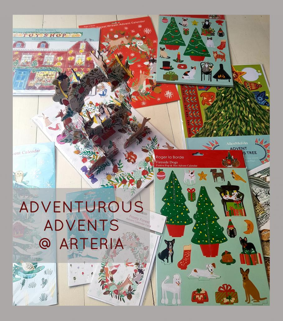 BE ADVENTUROUS WITH YOUR ADVENT