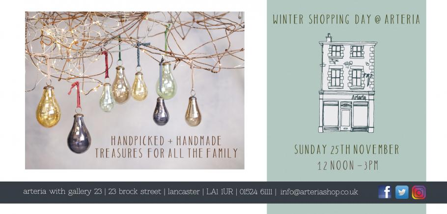 INVITATION TO OUR WINTER SHOPPING DAY
