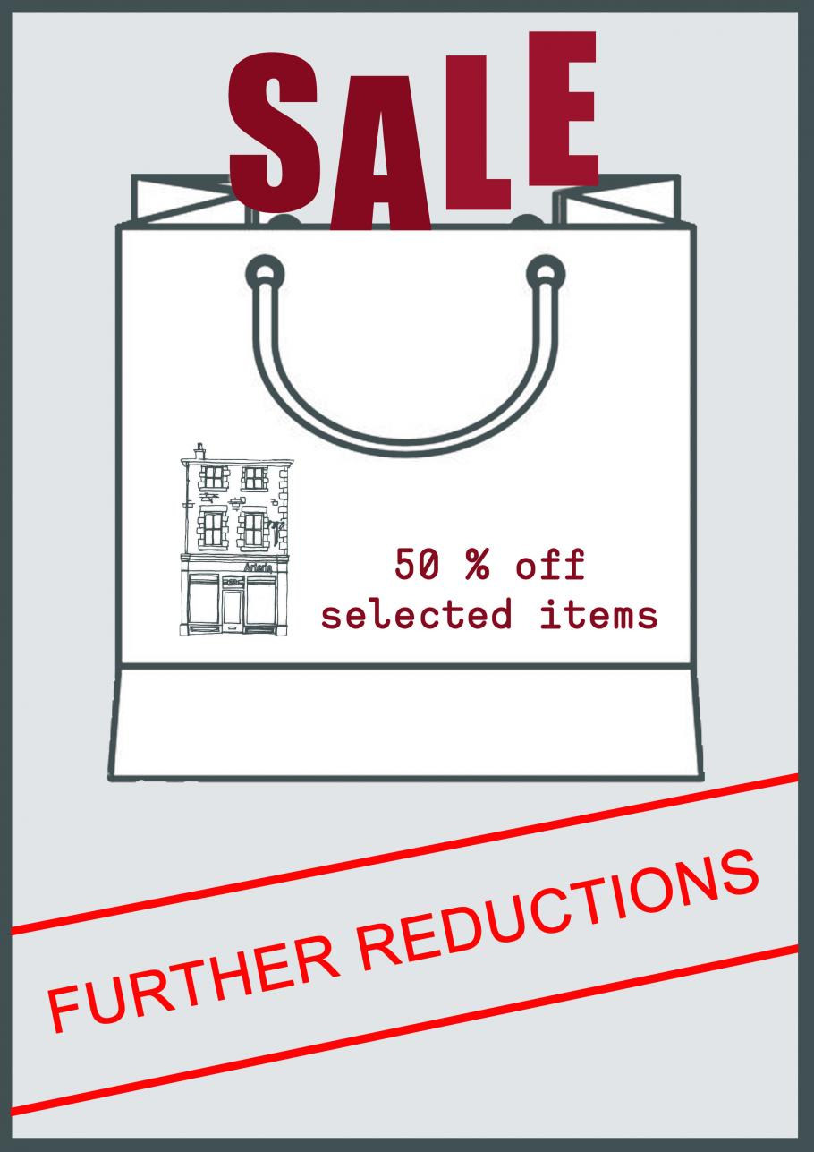 FURTHER REDUCTIONS IN THE ARTERIA SALE!