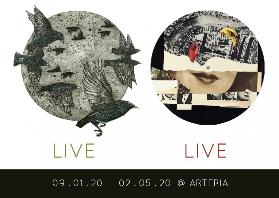 LIVE / LIVE - A NEW GALLERY EXHIBITION FOR A NEW DECADE