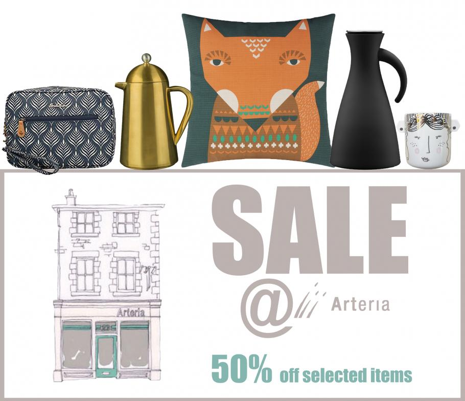THE ARTERIA SUMMER SALE STARTS 26TH JULY @ 10AM