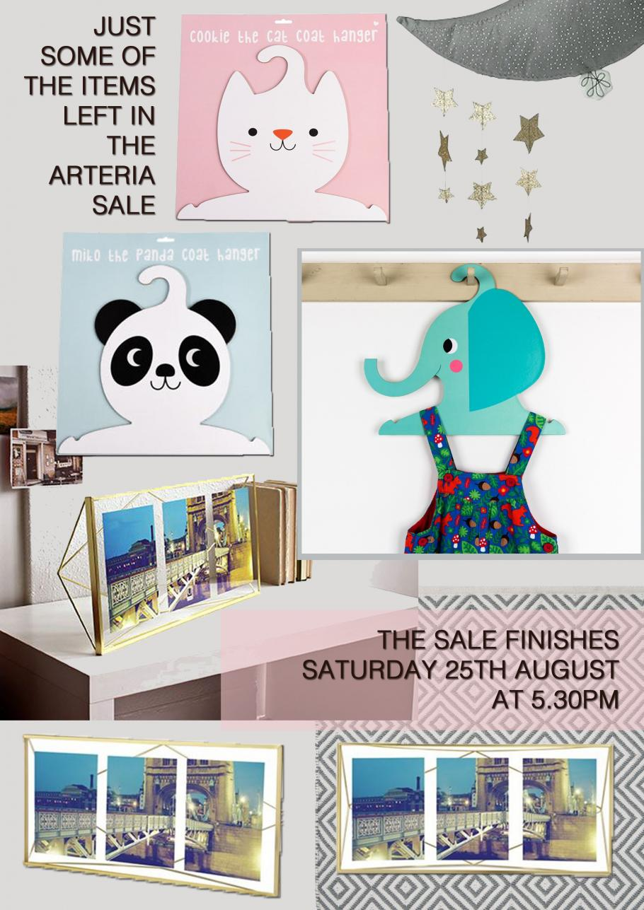 SUMMER SALE FINISHES SATURDAY 25TH AUGUST AT 5.30PM